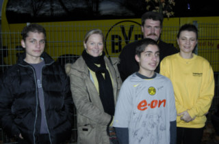 Phillipp beim BVB Training